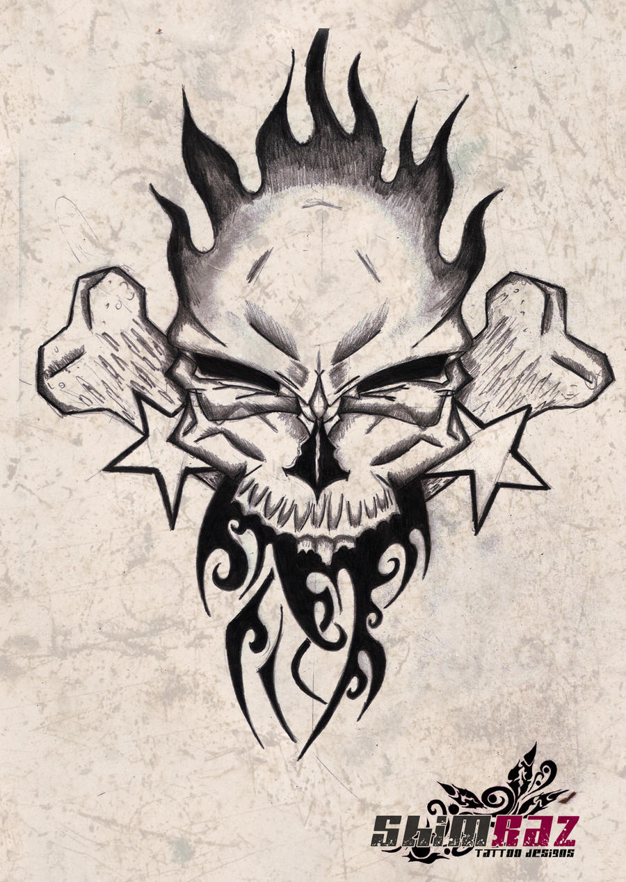 Skull / Free Tattoo Designs, Gallery, and Ideas