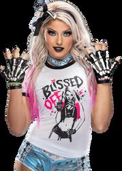 Alexa Bliss PNG Render by SkyHighRollins