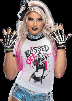 Alexa Bliss PNG Render
