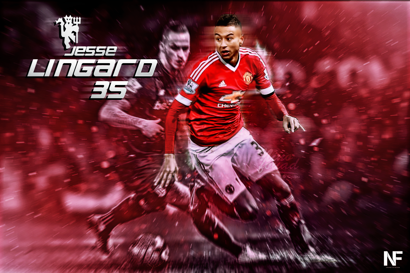 Wallpaper Edit Jesse Lingard Man Utd By Nino Gfx On Deviantart