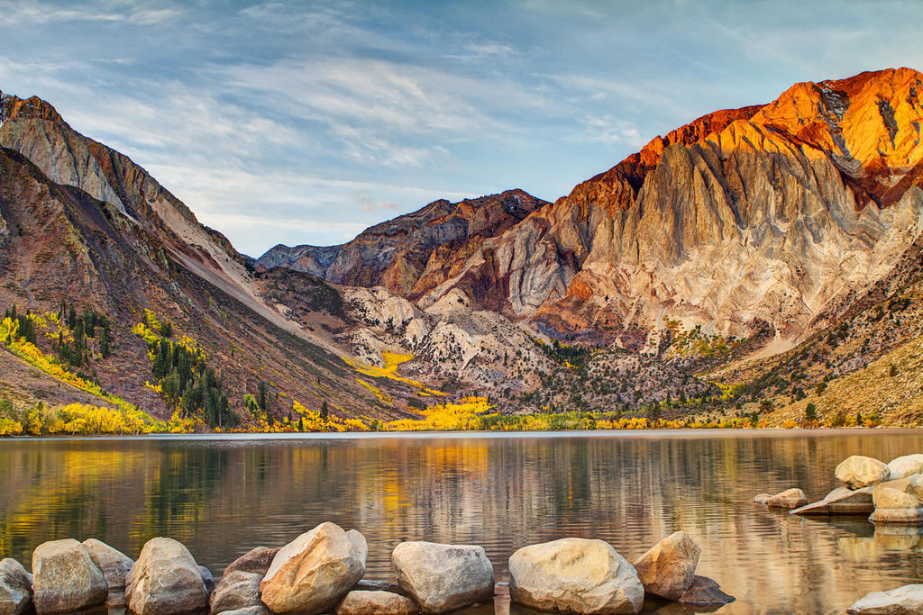 Convict Lake HDR by LifeCapturedPhoto