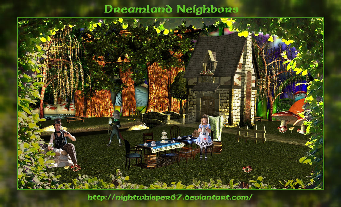 Dreamland Neighbors by NightWhisper67