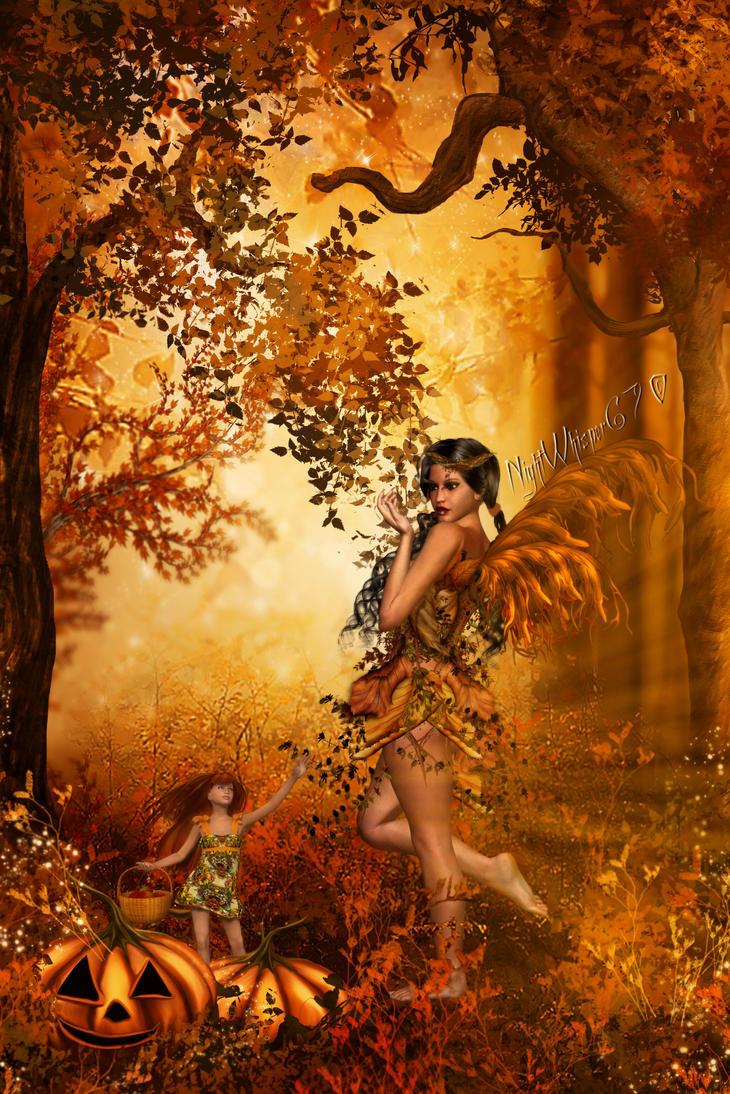 Fall Fairy by NightWhisper67