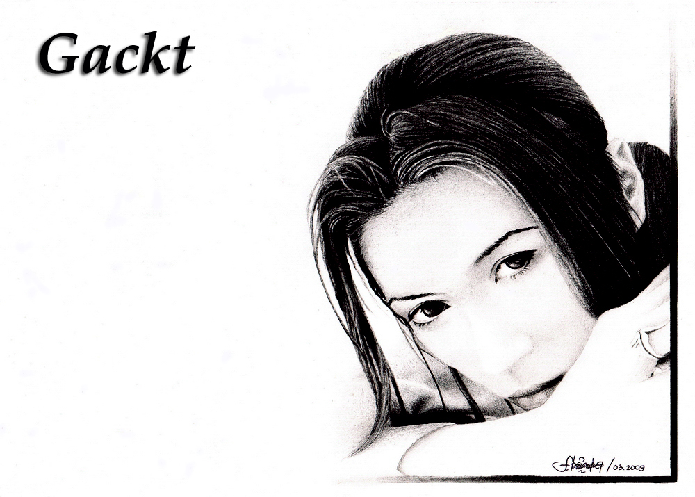 Gackt by febriantoedypratama