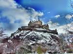 Edinburgh Castle in Winter