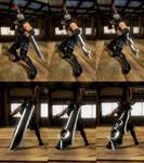 DOA5LR - Weapon - Hayabusa/Dabilahro