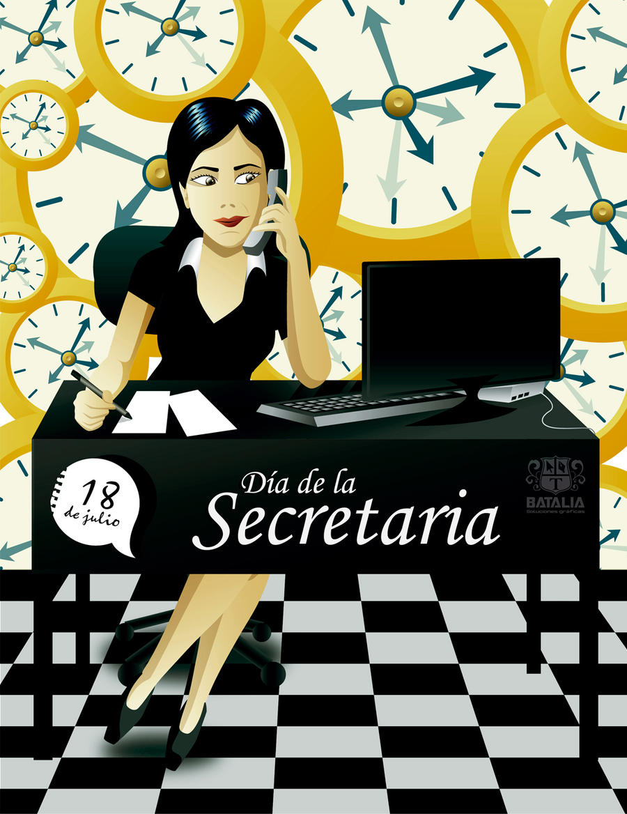 DIA DE LA SECRETARIA (Secretary's Day) by gianvoglio