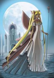 Sailor Moon Queen by chibi-stella