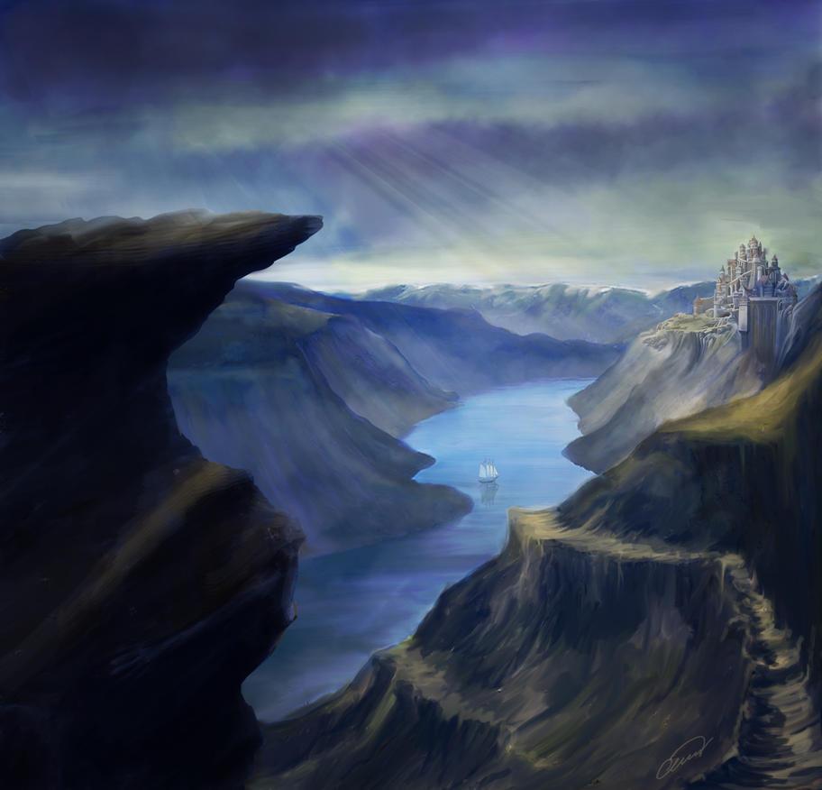 Norspania by BlueBitArt