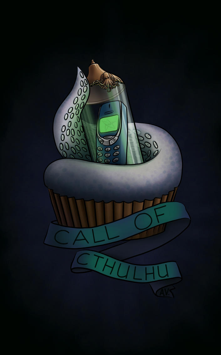 CallOfCthulhu by BlueBitArt