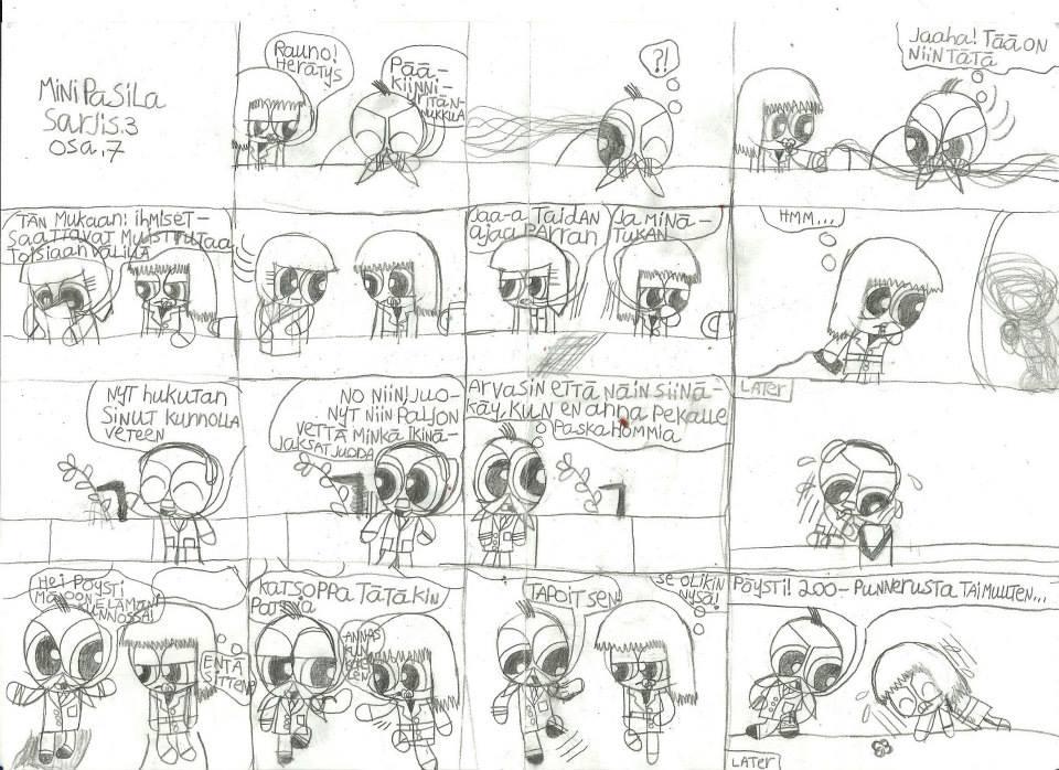 Mini Powerpuff police comic 3 part 13 by msavaloja