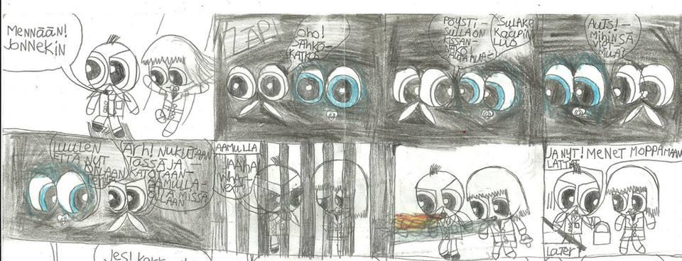 Mini Powerpuff police comic 3 part 14 by msavaloja