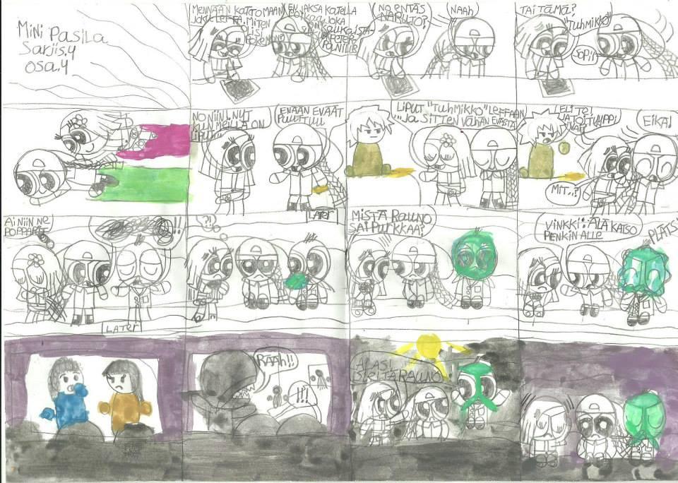 Mini Powerpuff police comic 4 part 9 by msavaloja