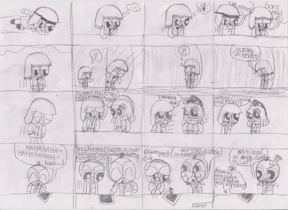 Mini Powerpuff police comic 4 part 12 by msavaloja