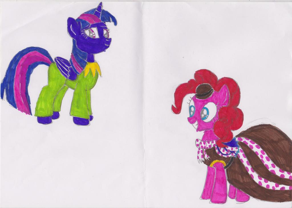 My weird pony style 3 by msavaloja