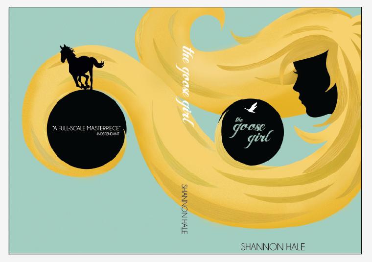 Book Cover Design For Girls : Book cover design the goose girl by ladyadela on deviantart