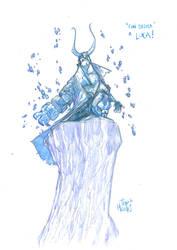 Lucca Sketch_Hellboy