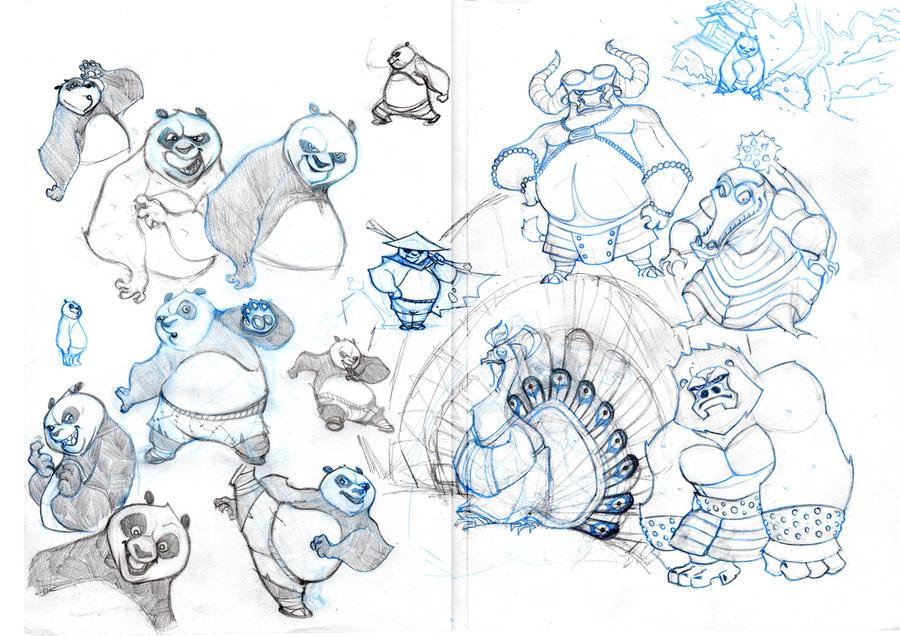 Kung Fu Panda | Character Design | Pinterest
