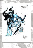 Sketchbook Sketch 13: Lady Viking V by alessandromicelli