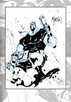 Sketchbook Sketch 16: Hellboy! by alessandromicelli