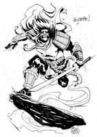 Samurai! by alessandromicelli