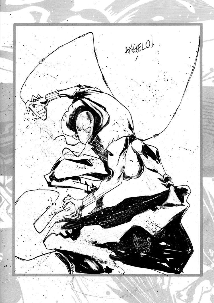 Sketchbook Sketch 36: Scarlet Spider! by alessandromicelli
