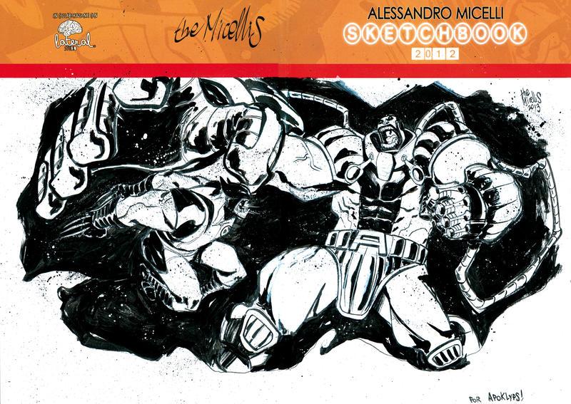 Wolverine VS Apocalypse by alessandromicelli