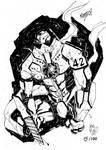 Sketchbook Sketch 2013: Gipsy Danger!