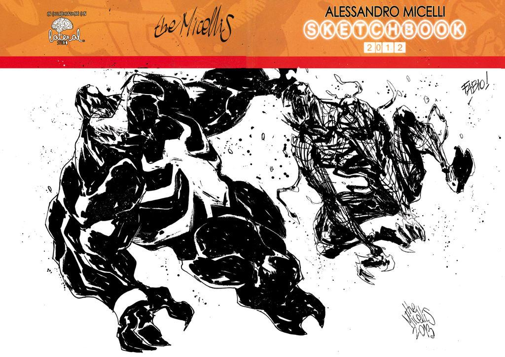 Venom VS Carnage! by alessandromicelli