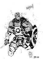 Sketchbook Sketch 2013: Cap! by alessandromicelli