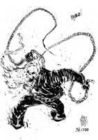 Sketchbook Sketch 2013: Ghost Rider! by alessandromicelli