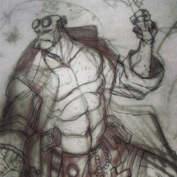 W.I.P. HELLBOY - Spirits of the forest