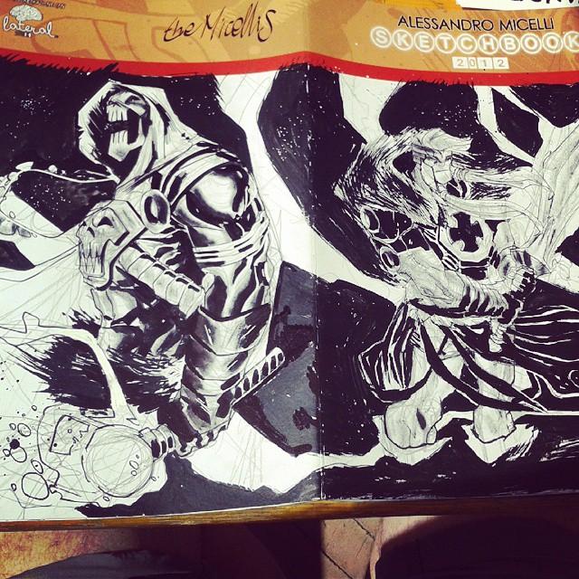 #12 Sketchbook Sketch 2014 by alessandromicelli