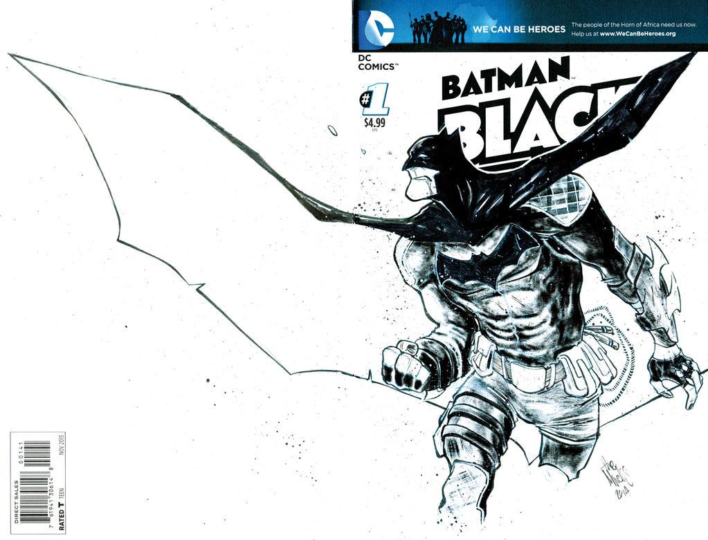 Batman White Cover by alessandromicelli