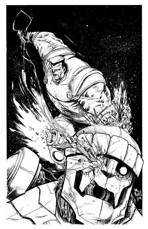 Colossus vs Sentinel by alessandromicelli