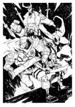 Cable Deadpool Hellboy