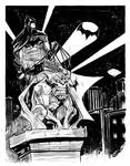 Batman on Gargoyle