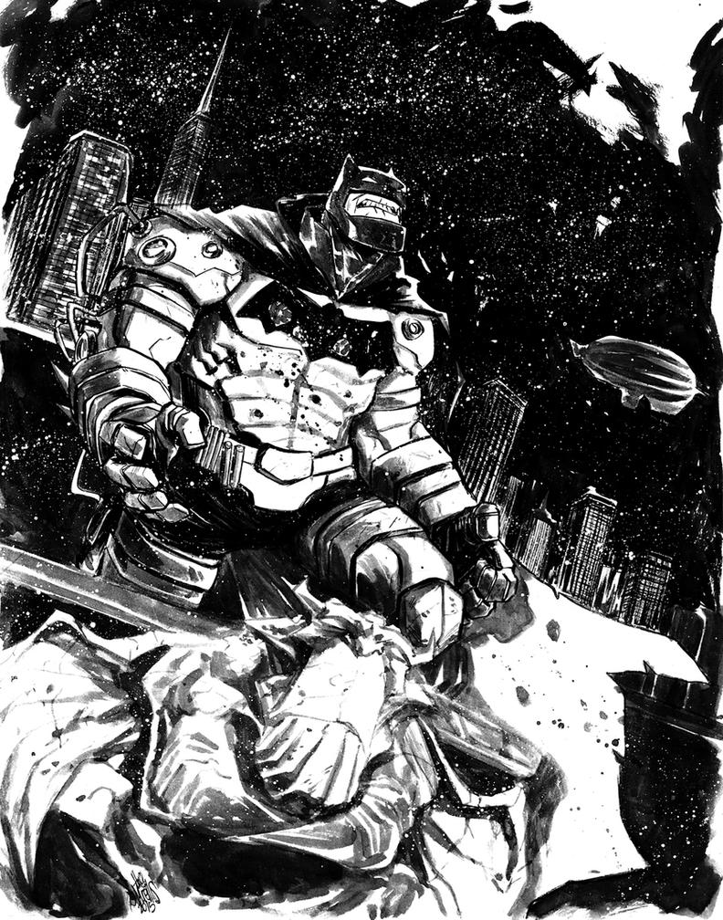 the Dark Knight by alessandromicelli