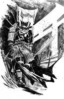 Batman Samurai by alessandromicelli