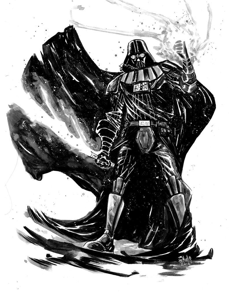 Darth Vader by alessandromicelli