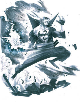 Iron Fist by alessandromicelli