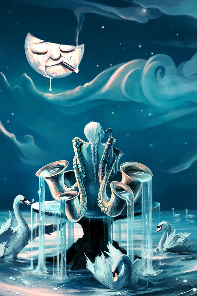 Everlasting Blues by AquaSixio