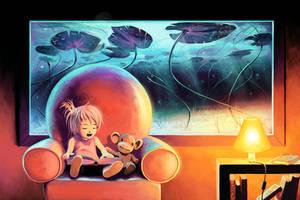 Lily's Island by AquaSixio