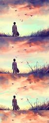 WIP of Enjoy the silence by AquaSixio