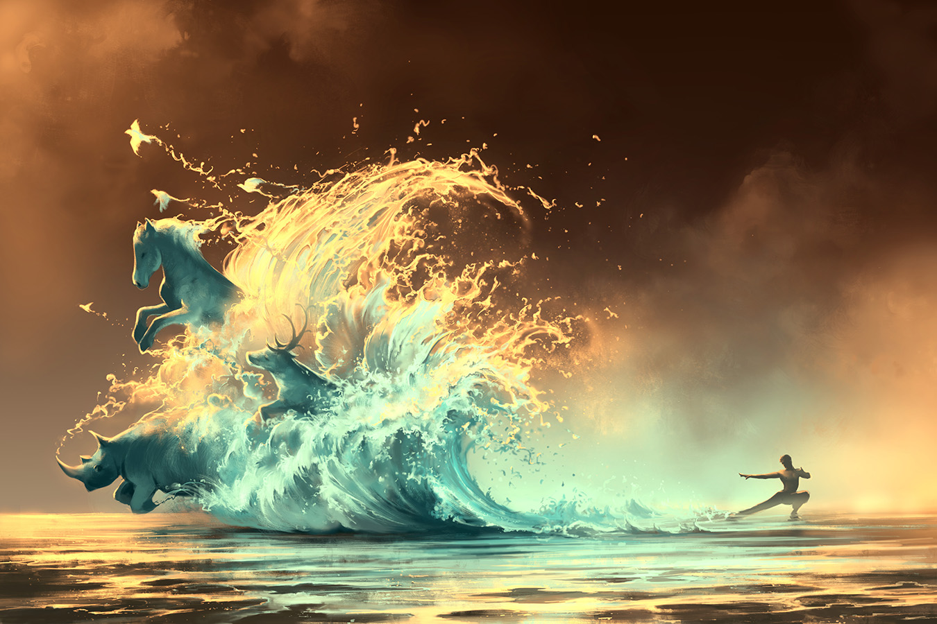 Mana Tide by AquaSixio