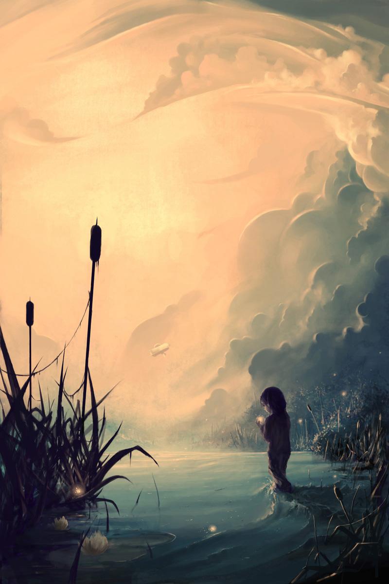 Evanescent sunrise