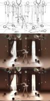 WIP of Dancing Zodiac Libra