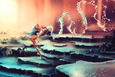 AQUARIUS from the Dancing Zodiac by AquaSixio