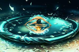GEMINI from the Dancing Zodiac by AquaSixio