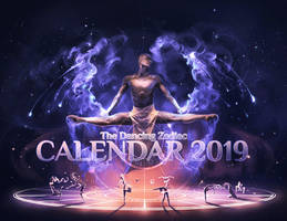 The dancing Zodiac Calendar by AquaSixio